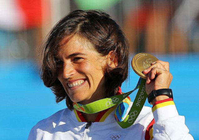 La española Maialen Chourraut se alza con el oro en el piragüismo en eslalon en Río