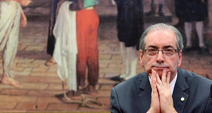 Eduardo Cunha, ex presidente de la Cámara de Diputados de Brasil