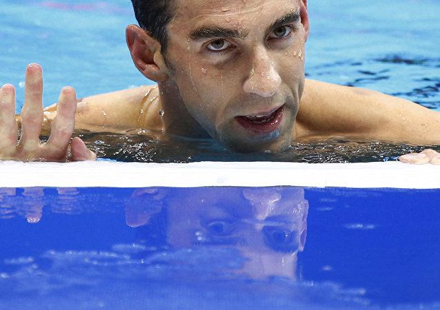 Michel Phelps, nadador estadounidense