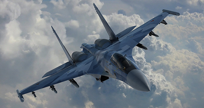 El caza ruso Su-35