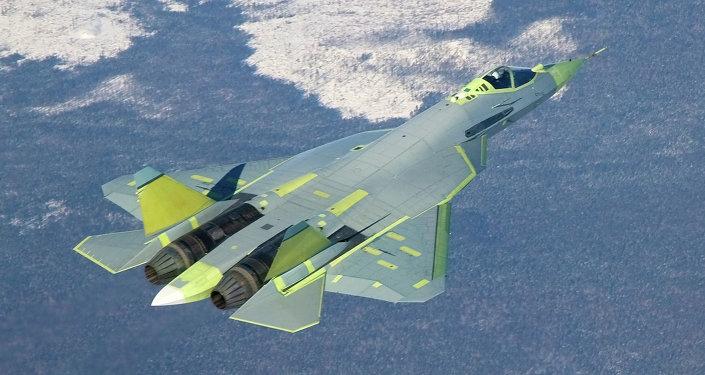 El caza ruso de quinta generación T-50