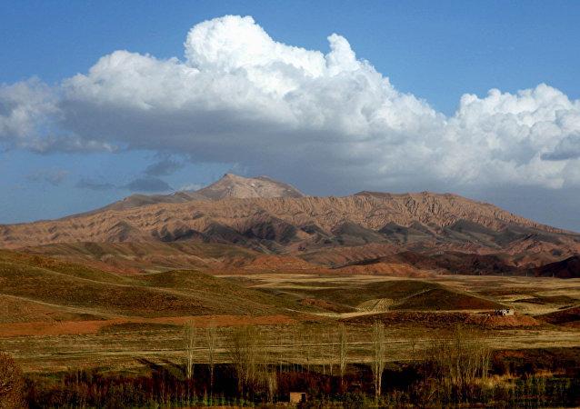 Montañas de Irán