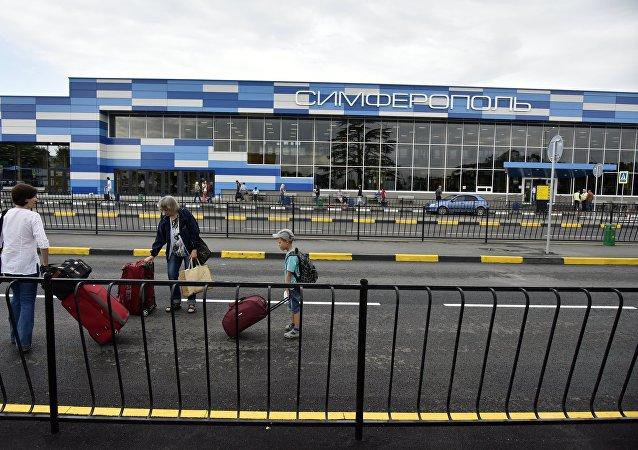 El aeropuerto de Simferópol