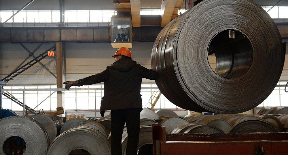 Una planta siderúrgica (Archivo)