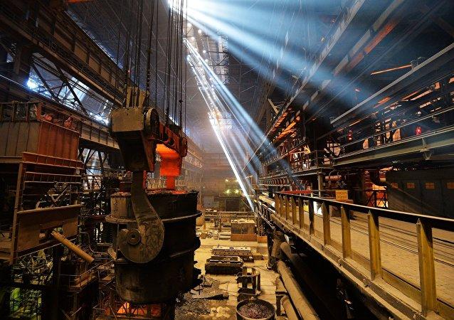 Industria de acero