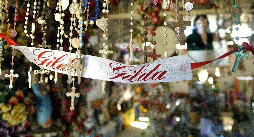 Santuario en honor de la cantante argentina Gilda