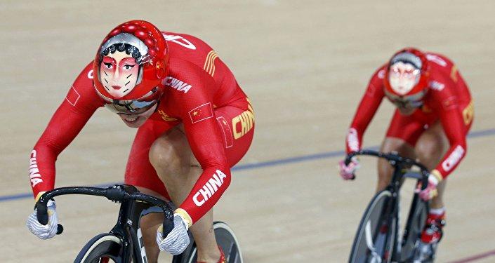 Ciclistas chinas en los JJOO de Río