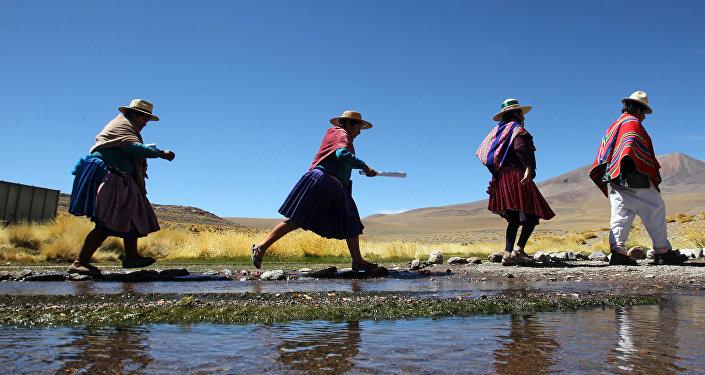 Indígenas en Bolivia (archivo)