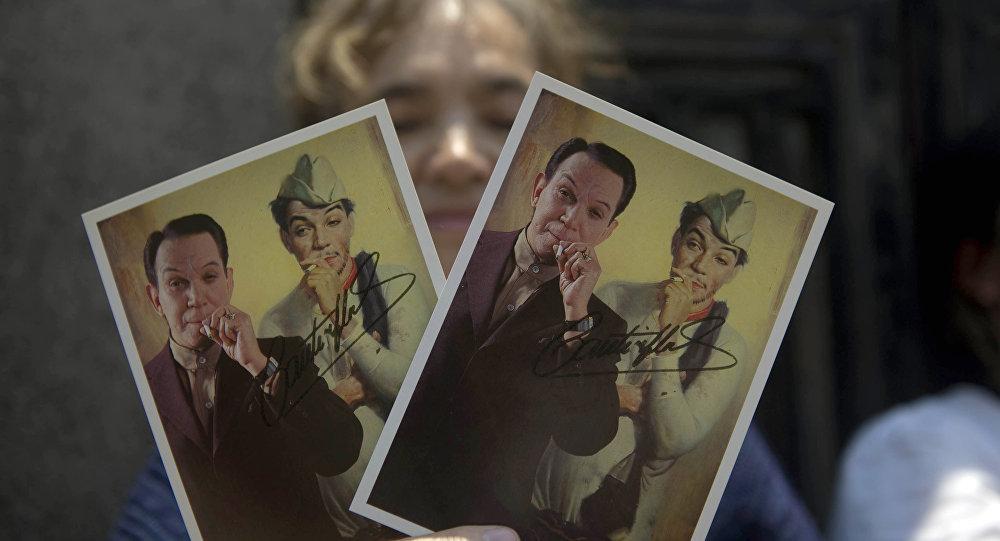 Fotos del humorista mexicano Mario Moreno 'Cantinflas'