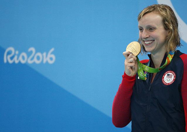 Katie Ledecky, nadadora estadounidense