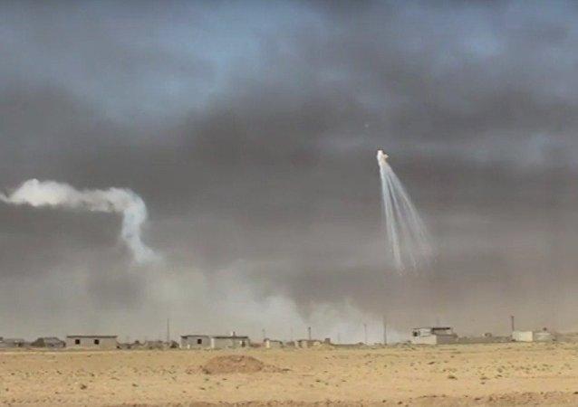 Uso de armas incendiarias en un ataque liderado por EEUU en Irak