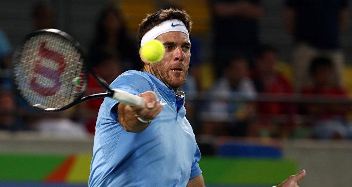 Juan Martin del Potro, tenista argentino