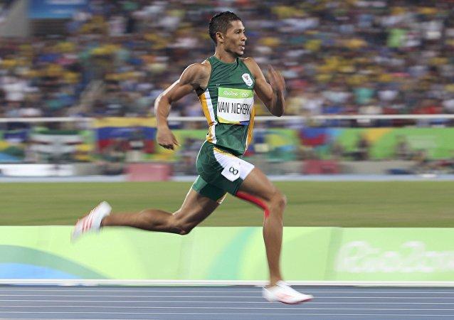 Wayde Van Niekerk, deportista sudafricano