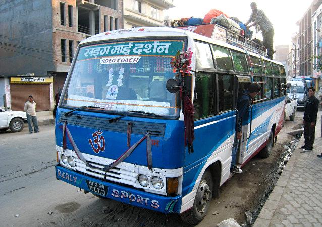 Un autobús en Nepal (archivo)