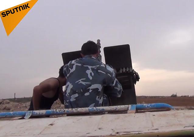 El Ejército sirio está ampliando la zona de lucha antiterrorista a la ciudad de Salamíe