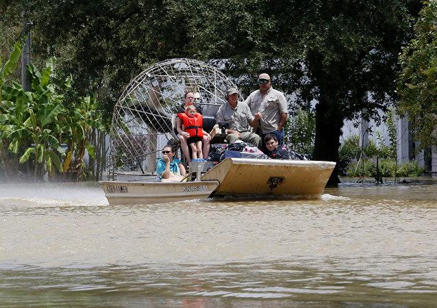 Inundaciones en Luisiana, EEUU