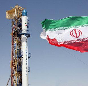 La bandera de Irán (archivo)