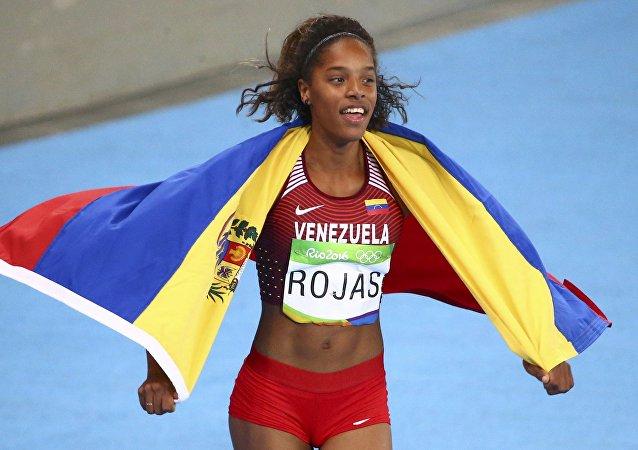 Yulimar Rojas, deportista venezolana