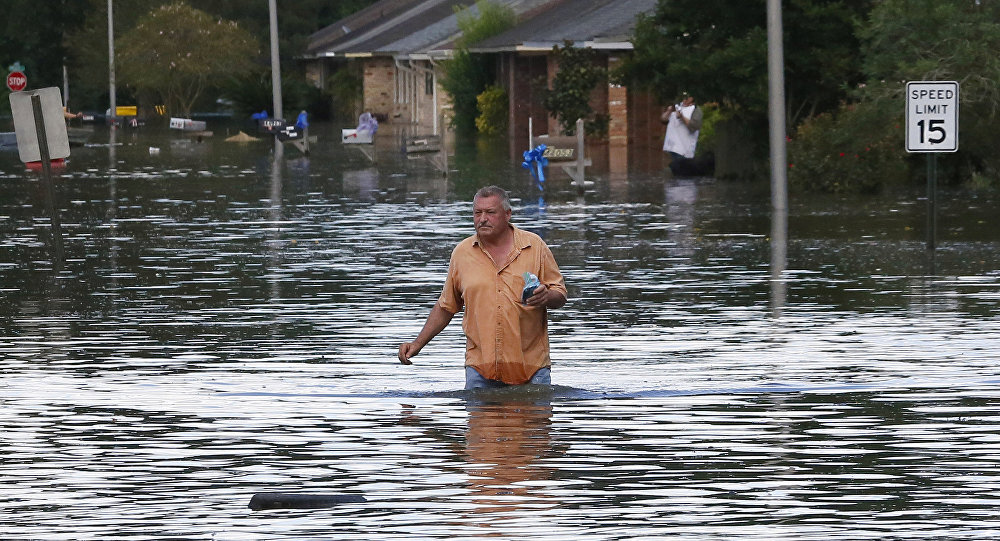 Inundaciones en Luisiana, EEUU (archivo)
