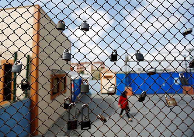 Una cárcel en Estambul