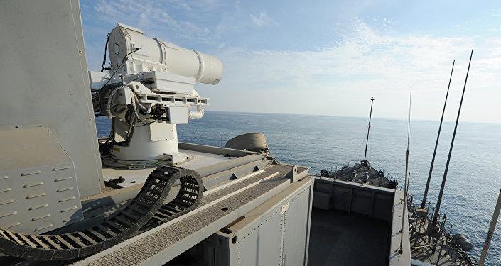 Un arma láser estadounidense