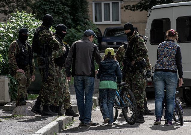 Escuadrón Especial de Respuesta Rápida en San Petersburgo