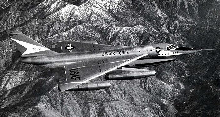 Bombardero estadounidense B-58 Hustler