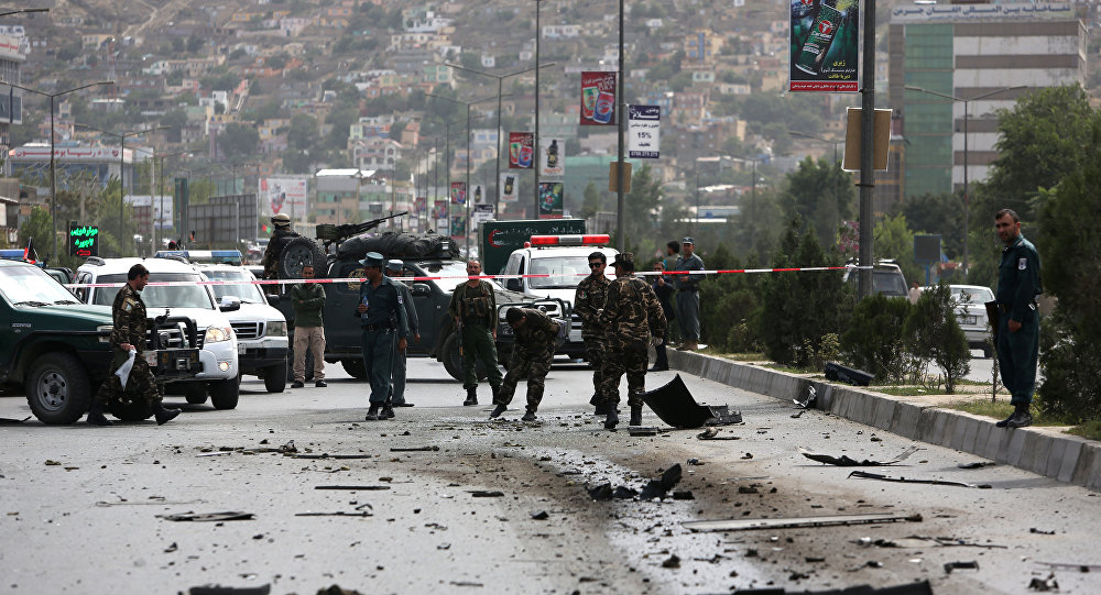 Lugar del ataque talibán (archivo)