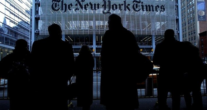 Edificio del 'The New York Times' in New York