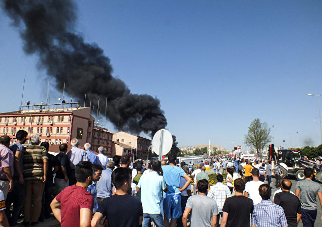 La explosión en Elazig