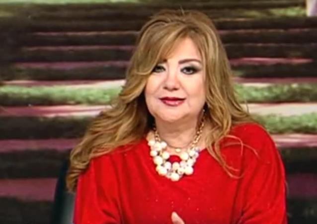 Jadisha Jattab, presentadora egipcia