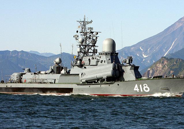 Buque portamisil de la Flota del Pacífico