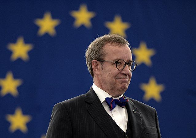 Hendrik Ilves, presidente de Estonia