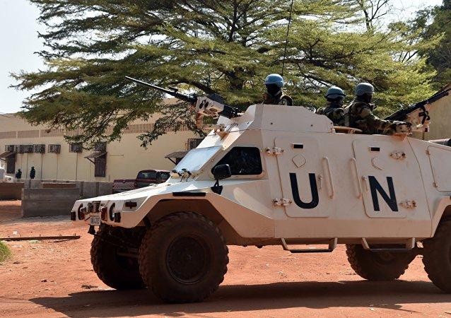 Empleados de la ONU (archivo)
