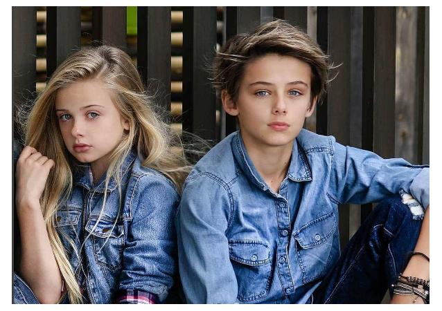 William Franklyn Miller, el niño australiano más bello del planeta