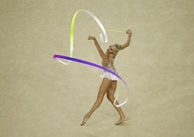 Yana Kudryavtseva, gimnasta rusa