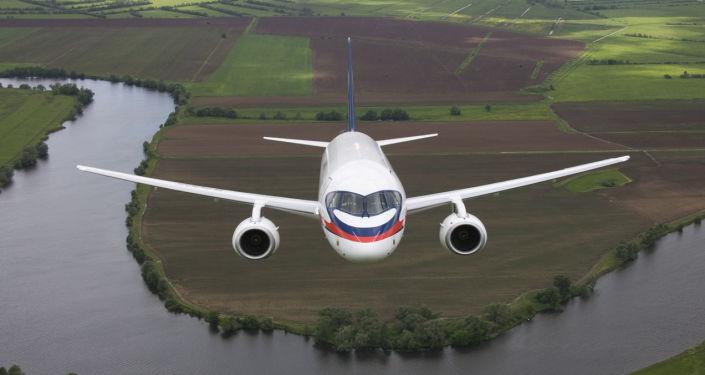 Sukhoi Superjet 100 (archivo)