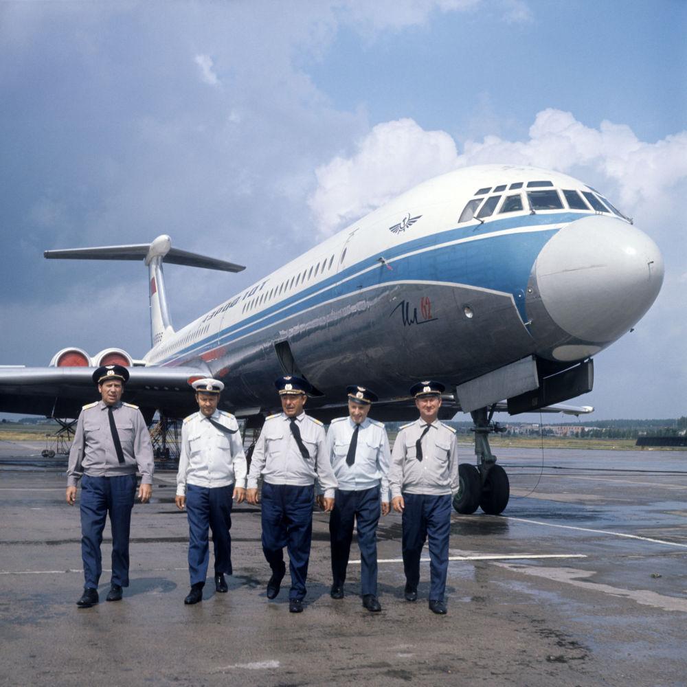Las leyendas de la aviación civil rusa