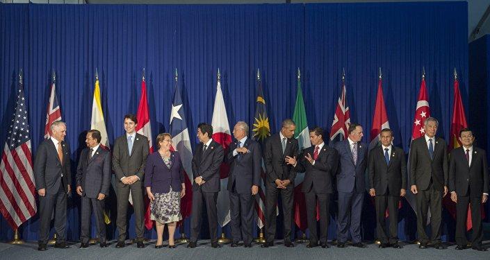 Líderes de los Estados miembros de la Asociación Transpacífica