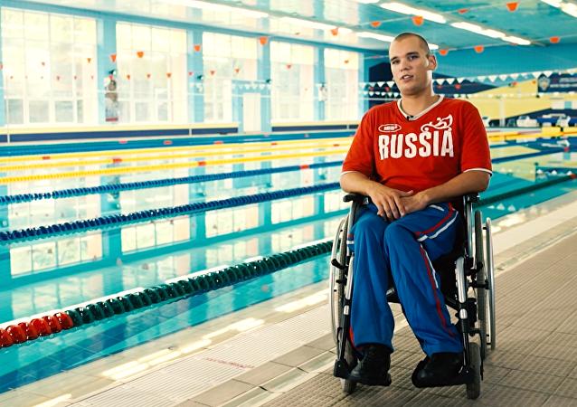 Dmitri Kokárev, nadador ruso paralímpico