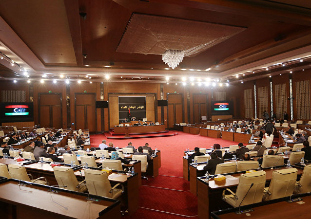 Parlamento libio en Trípoli