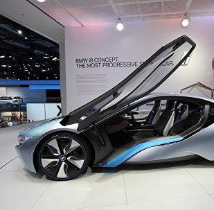Un BMW i8 híbrido