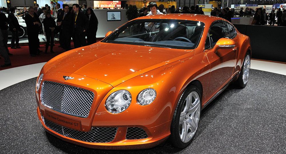 Bentley Continental (Archivo)