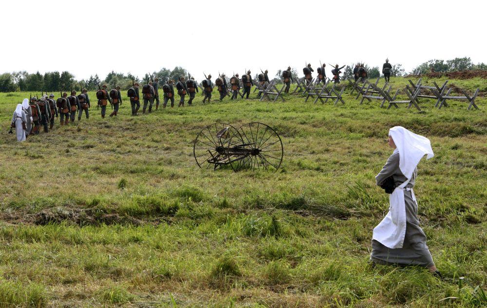 Historia viva: recrean la imporante Batalla de Gumbinnen