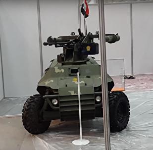 Alrobot, robotanque iraquí