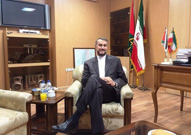 Amir Abdollahian, asesor del jefe del Parlamento iraní