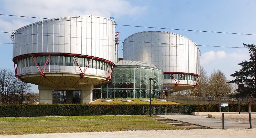 La sede del Tribunal Europeo de Derechos Humanos (archivo)