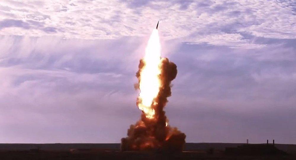 Prueba de un misil ruso (Archivo)