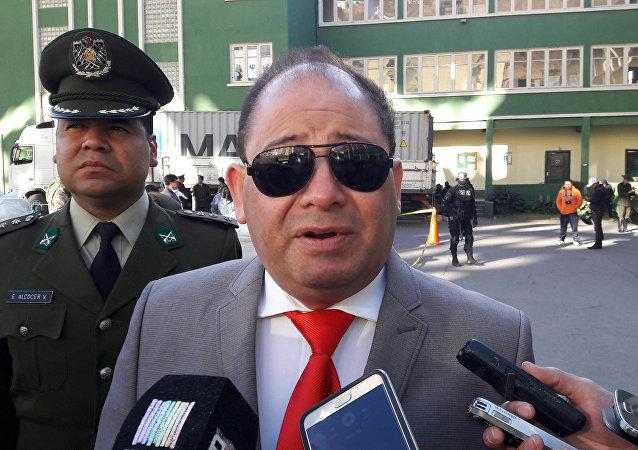 Carlos Romero, ministro de Gobierno de Bolivia