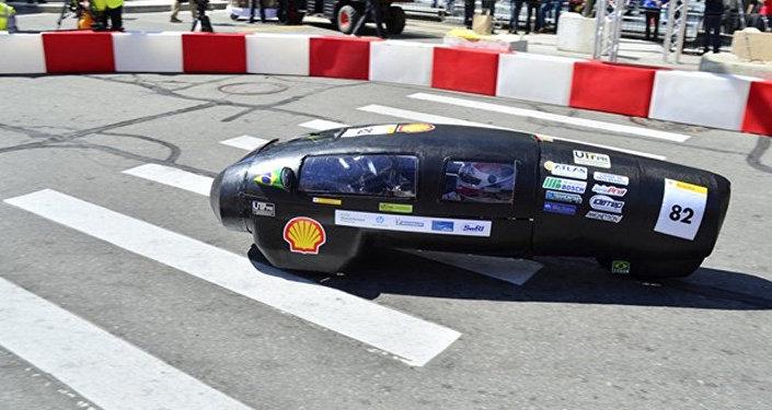 El prototipo de automóvil capaz de superar los 300 km de distancia empleando únicamente un litro de etanol